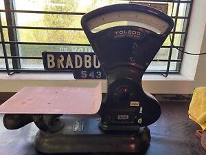 Vintage toledo Scale