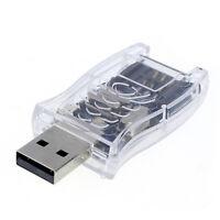 Super Speed USB SIM card reader Writer Backup-GSM Cloner Manipulation CDMA