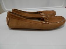 Patricia Green Brynn Penny Loafers With Bamboo Buckle Size 40