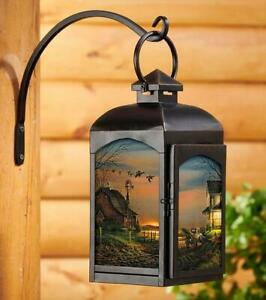 Special Memories Candle Lantern (Black) by Terry Redlin