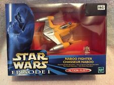De colección Guerra de las galaxias episodio 1 en Caja acción flota Naboo Fighter-Nuevo En Caja.