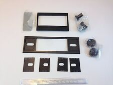 2 Shaft Stereo Faceplate & Mounting Brackets - Kit With Knobs & Acc # Z2Shaftkit