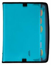 Five Star 7 Pocket Customizable Expanding File 13.75 x 10.75 Inches Teal 72506
