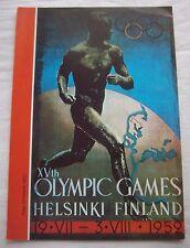 Guide / Resultate   XV.Olympische Spiele HELSINKI (Finland) 1952 / A  !!  SELTEN