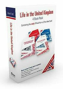 Life in the United Kingdom Complete Official 4 Book Pack Official Study Guide UK