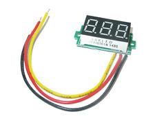 Mini Digital Voltmeter Spannungsanzeige Rot LED
