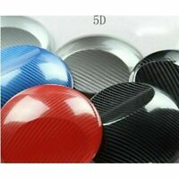 2D 3D 4D Glossy Carbon Fiber Wrap Film Car Decal Sticker Door Sill Anti Scratch