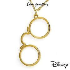 RARE Disney Couture Pirate of Caribbean Captain Jack Sparrow Glasses Necklace GP