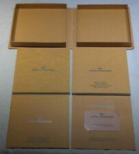 Girard Perregaux Warranty Card / Mode D'Emploi / Distributor List - Like New
