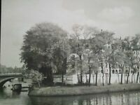 Superbe photo grand format années 40 Ile Saint-Louis Paris état impeccable