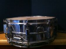 Vintage Ludwig 5 X 14 Supraphonic Chrome Snare Drum # 65157-NonProfit Org