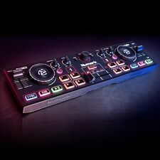 Numark DJ2GO 2 Portable DJ Controller Serato Intro and Built-In Audio Interface