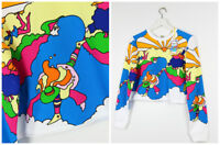 "NEW WRANGLER by PETER MAX "" PLAYING CLOUD"" SWEAT SWEATSHIRT STARS ART XS/S/M/L"