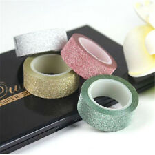5m Crafts Glitter Washi Tape Book Card Decoration DIY Adhesive Paper Sticker