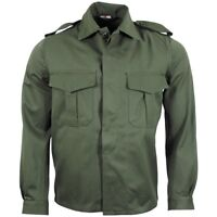 New Genuine Belgian NATO Army Olive Drab Field Shirt SIZE 34