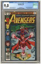 Avengers 186 (CGC 9.0) Origin of Quicksilver & Scarlet Witch; Newsstand (j#6577)