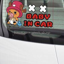 One Piece Chopper Baby In Car Autoaufkleber Aufkleber Car Stickers Decals S-029