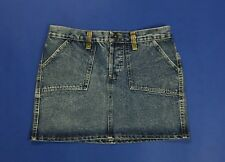 Dolce gabbana dg size w28 tg 42 gonna jeans usato vita alta hot mom sexy denim
