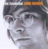 """JOHN DENVER """"THE ESSENTIAL (BEST OF)"""" 2 CD NEUWARE"""