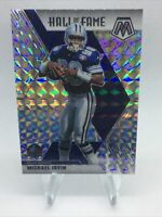 Michael Irvin 2020 Panini Mosaic Silver Prizm  Hall Of Fame Dallas Cowboys HOF