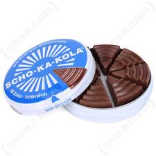Scho-Ka-Kola German High Caffeine Milk Chocolate -  Tin Gift WW2 Sweets Energy