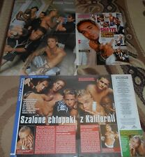 Crazy Town  - Magazine Poster + Articles Lot