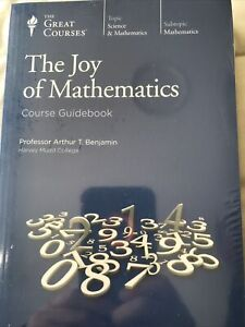 The Joy Of Mathematics - The Great Courses NEW Course Guidebook