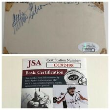 Tennis Legend Althea Gibson Signed Autograph 3 x 5 Index Card JSA - FREE S&H!