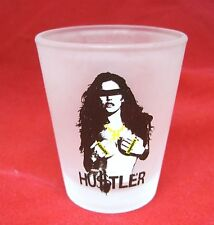 Older Hustler Shot Glass Woman with Hard Core on Hands T9