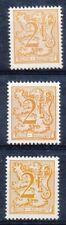 [151730] SUP  **/Mnh    - N° 1903+P6+P7, 2F orange, chiffre sur lion et banderol