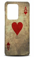 SAMSUNG GALAXY S SERIES PHONE CASE BACK COVER|ACE OF HEARTS PLAYING DECK CARDS