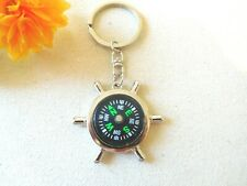 Compass Small Portable Camping Sport Hike Hiking Outdoof Keychain New