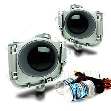 2010-2011 Toyota Prius Fog Lights w/Wiring Kit & HID Kit - Super Smoke