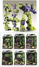 WJ Transformers Hercules DEVASTATOR 6 In 1 Engineering Car Action Figure In Box