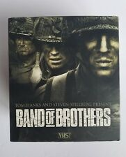 Band Of Brothers Boxed Set VHS 6 Tapes We Stand Alone Together Best Mini Series