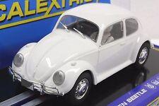 Scalextric C3362 VW Volkswagen Beetle Plain White 1/32 Slot Car *DPR*