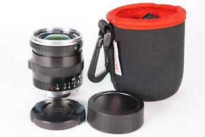 Carl Zeiss Biogon 21mm F2.8 ZM T* Lens SN: 15677114