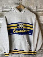 MCC Crusaders vintage 1980s Hoodie rare vintage Size L