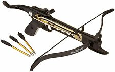 Self Cocking Pistol Tactical Crossbow 80-Pound Cobra System K-8025 Archery New
