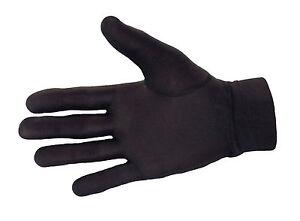Large Thin Silk liner inner Gloves Ski  motorcycle skiing walking cycling