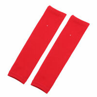 Sports Exercise Elbow Forearm Arm Brace Support Protector Sleeve Red Pair