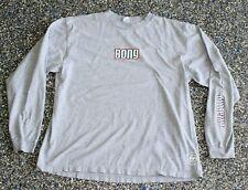 vtg 90s BILLABONG Long Sleeve T-Shirt Men's XL X-LARGE Gray LS Bong MADE IN USA