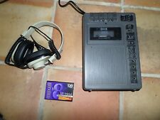 Eiki Portable Commercial Cassette Player Tape Recorder Model 3279A No Counter