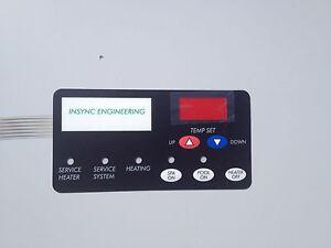 INSYNC ENG Comp Pentair 472610Z Sta-Rite 42002-0029Z Membrane Keypad 42002-0034Z