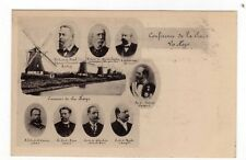 POLITICAL, 1899 1ST PEACE CONFERENCE, THE HAGUE, DELEGATES, LOT C