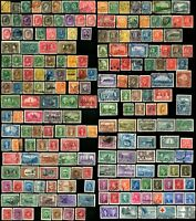 200 Early CANADA Stamps Postage Collection 1870-1955 Used Mint LH