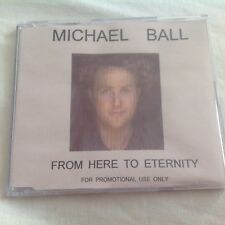 MICHAEL BALL - FROM HERE TO ETERNITY CD - FOR PROMO USE RARE
