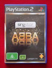 PS2 Game - Singstar ABBA - Australian PAL Version