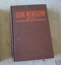 1946 Book Don winslow and Scorpion's Stronghold