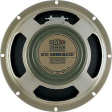 Celestion G10 Greenback 30 watt guitar speaker Made in UK 8 ohms